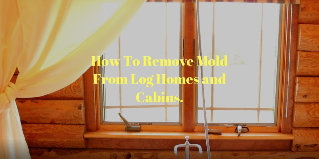 How To Remove Mold From Log Homes and Cabins.